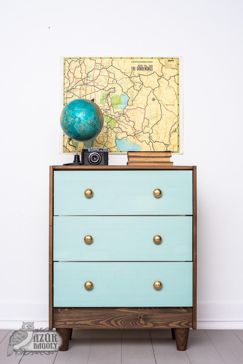 modern stílusú bútor festése az IKEA-hack bútorfestő-workshop-on